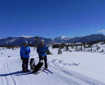 Winter Grand Lake Dog Trails Country Cross