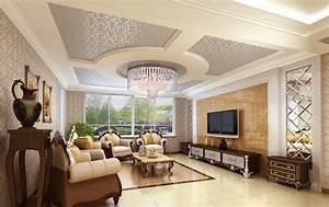 Classic interior design ideas modern magazin for Interior ceiling design for living room
