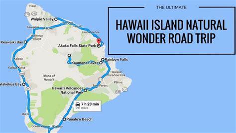 natural wonders road trip  show  hawaii island