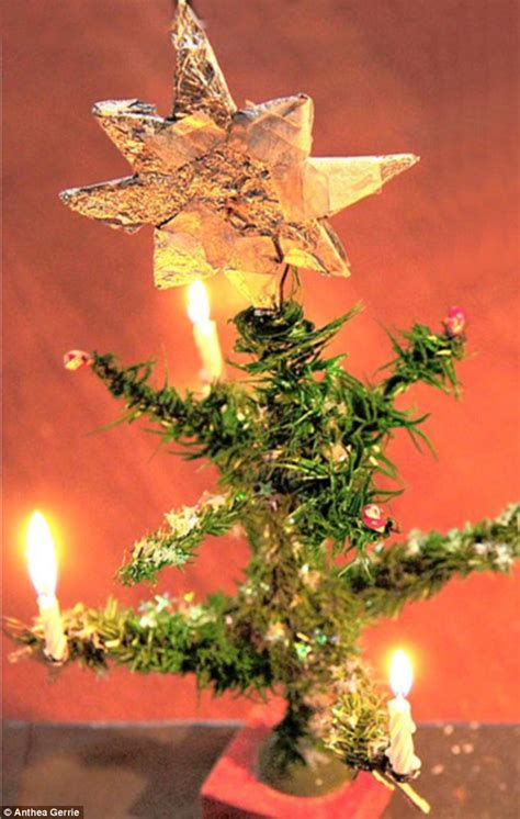 tiny christmas tree tiny christmas tree that gave the nazis prisoners hope survivor still lights candles 78 years