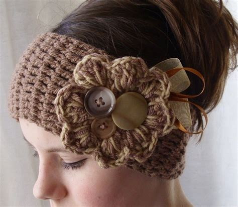 crochet ear warmer the crafty novice simple crochet ear warmer