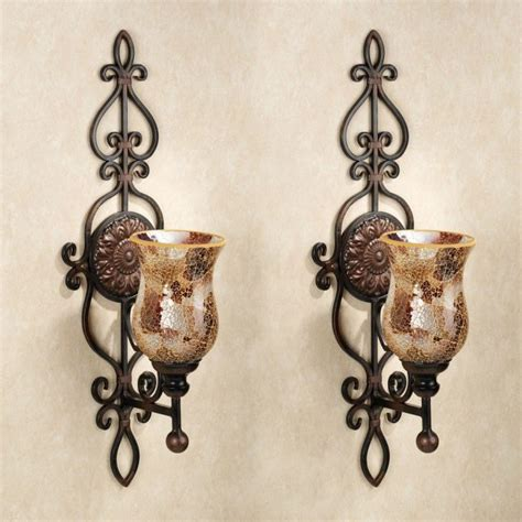 Hobby Candele by Wrought Iron Candle Wall Sconces Votive Candle Holders