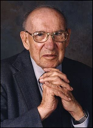Drucker radically expanded the concept of management to include a focus on how businesses operate morally and ethically. Peter Drucker dies at 95 | Peter F. Drucker is seen in this … | Flickr