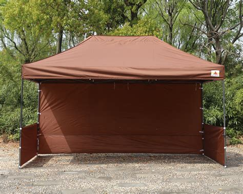 abccanopy  deluxe brown pop  canopy trade show  abccanopy