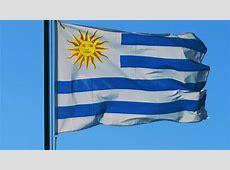 Bandera De Uruguay Flameando YouTube