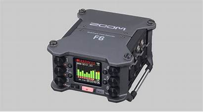Zoom F6 Recorder Field Multitrack Introduces Gearnews
