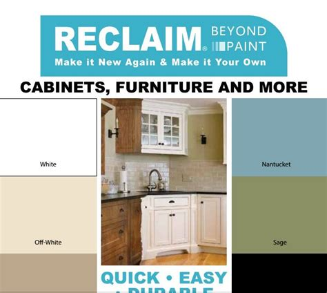 Kitchen Cabinet Paint Products by Reclaim Color Card Reclaim Beyond Paint Products I