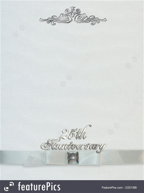templates  wedding anniversary invitation stock
