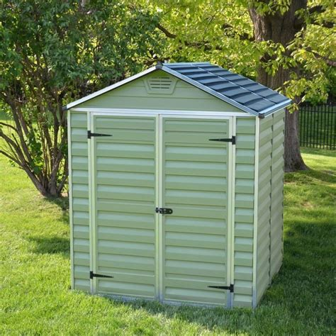 b q garden sheds for sale uk mercia plastic garden shed 5 x 6 buy at qd stores