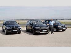 All BMW X5 generations A work of progress F15, E70, E53