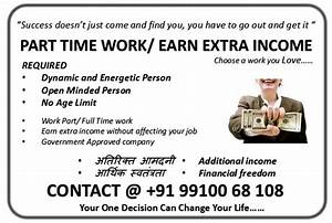 Part Time Work, Full Time Work, Extra Income, Retirement ...