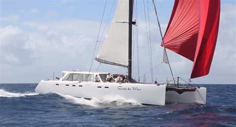 Gunboat G4 Catamaran Capsize by Gunboat Fleet Racing At Heineken Regatta 2014 Catamaran