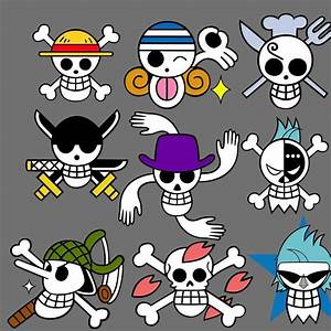 Straw Hat's Crew Jolly Roger - One Piece Photo (5885384 ...