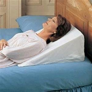 Foam bed wedge pillow acid reflux pillow for Best bed wedge for gerd