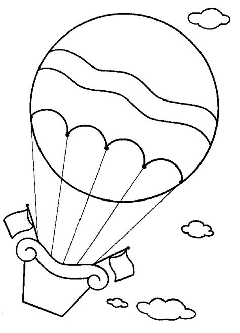 kids  funcom  coloring pages  hot air balloons