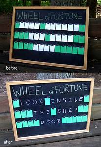 a purple birthday party rachel swartley With wheel of fortune board template