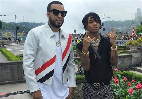 swae lee and french montana french montana swae lee perform unforgettable on live