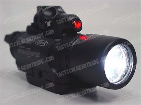 X400 Type Cree Led Flashlight Weaponlight & Red Laser For