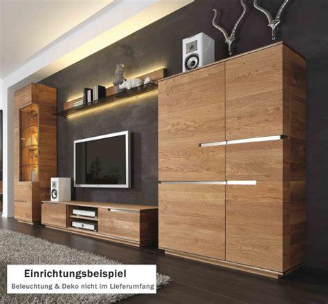 Wohnzimmer Eiche Modern by Wohnwand Wohnzimmerwand Wohnzimmer Asteiche Eiche Massiv