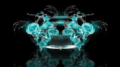 Lexus Lflc Fantasy Rose Flowers Car 2013  El Tony