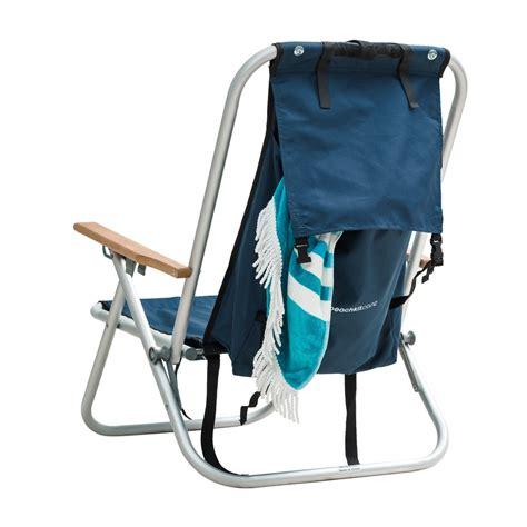 Gear Backpack Chair Blue by Wearever Backpack Chair Beachkit Auckland New Zealand