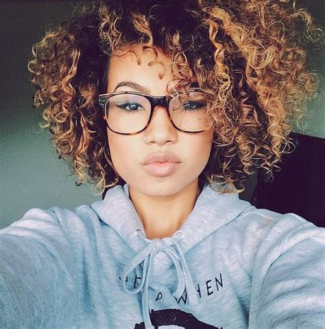 ombre hair coloring ideas  natural hair curly hair