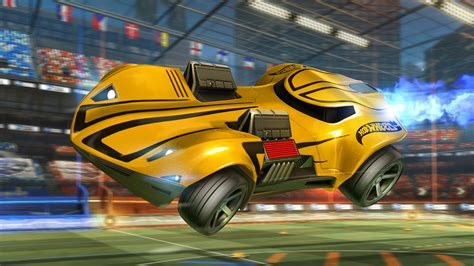 Rocket League Getting Hot Wheels Cars