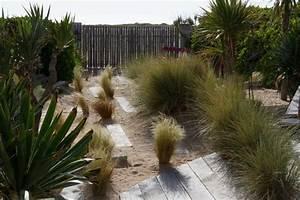 creation d39un jardin sur des dunes en bord de mer bord With marvelous eclairage bord de piscine 16 amenagement paysager photos