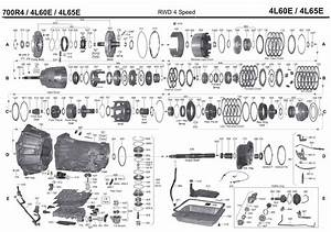 Gm 4l60e Parts Diagram