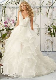 Backless High V Neck Sexy Ball Gown Wedding …