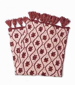 How To Make Bernat Velvet Moroccan Tile Crochet Afghan