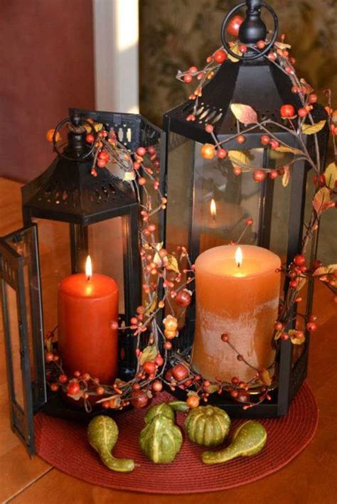 Candle Decorating Ideas - 21 best fall candle decoration ideas and designs for 2019