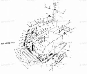 Polaris Snowmobile 2003 Oem Parts Diagram For Cooling