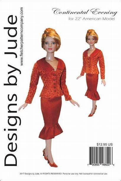Clothes Tonner Doll Patterns American Sewing Continental