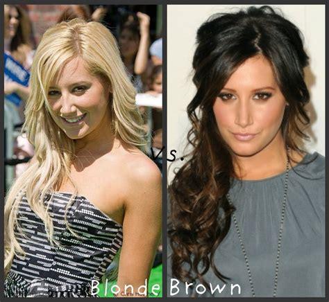 Brown Hair Vs Black Hair by Tisdale Vs Brown Hair Styles
