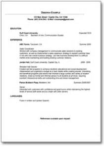 resume sle for sales position sle resume for sales position quickly easily to