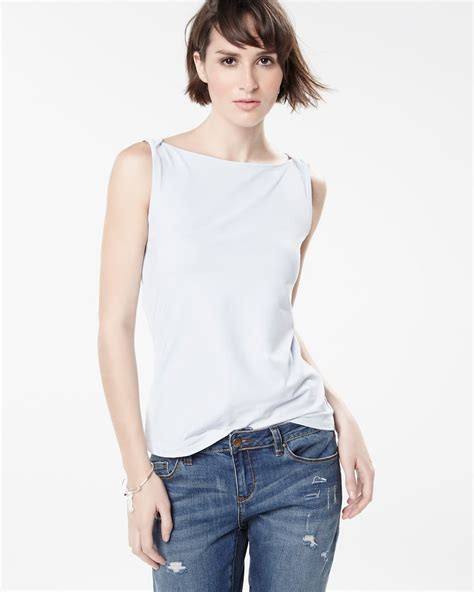 Boat Neck Tops For Sale by Boat Neck Tank Top Fashion Colours Rw Co