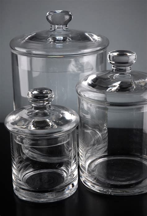 clear glass canisters for kitchen adorable glass kitchen canisters the new way home decor