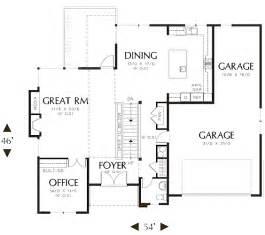 efficient floor plans brackston house plan