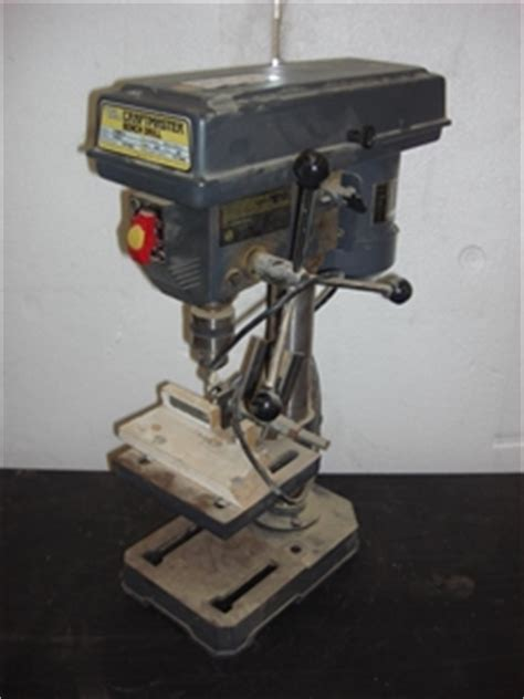 craftmaster bench top drill press auction