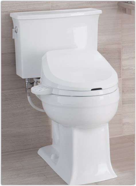 toilet built in bidet kohler k 4737 0 c3 125 elongated bidet toilet seat with