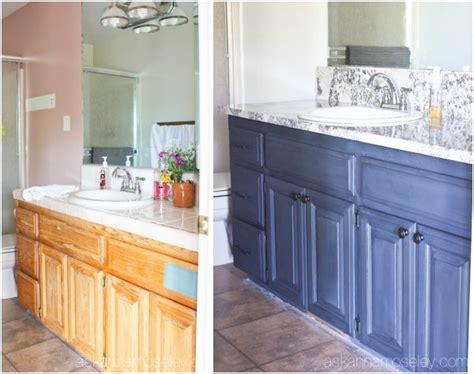 + Ideas About Painting Bathroom Vanities On Pinterest