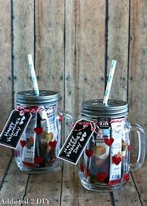 glittered jar tumblers addicted 2 diy