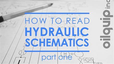 How Read Hydraulic Schematics Part Misc