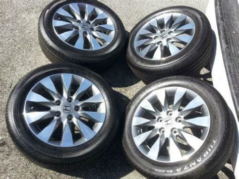 Honda Civic Rims Tires