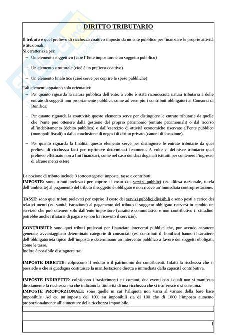 dispensa di diritto tributario riassunto esame diritto prof salanitro libro