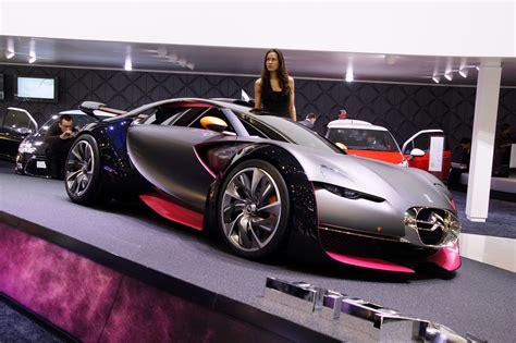 car citroen survolt sports car concept debuts