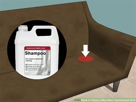 best way to clean microfiber the best ways to clean a microfiber upholstered sofa wikihow