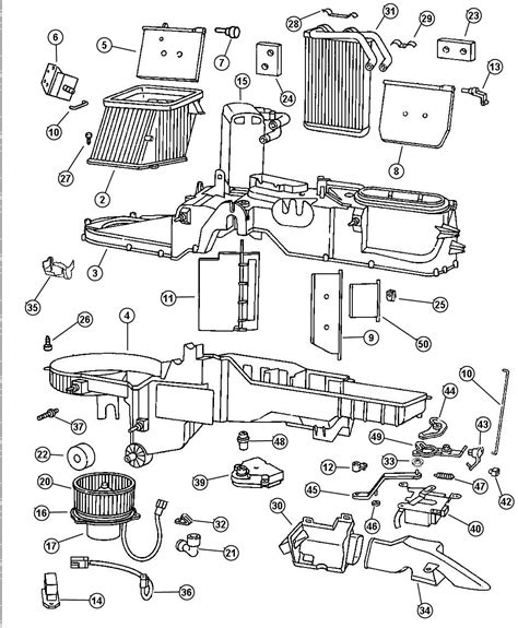 Chrysler Voyager 2002 Wiring Diagram by 2002 Chrysler Voyager Wiring Used For Heater And A C