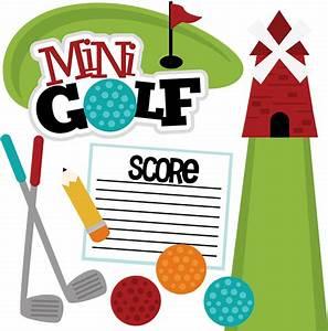 Mini Golf SVG scrapbook file mini golf svg file mini golf ...